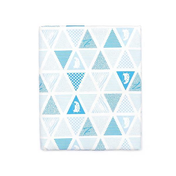 棉麻布料(三角密室)-淺海藍  布,台灣設計,台灣製造,手工藝,布料,文創設計,刺蝟,手作,居家良品,棉麻,布料,服裝輔料,diy,手工製作,手工材料