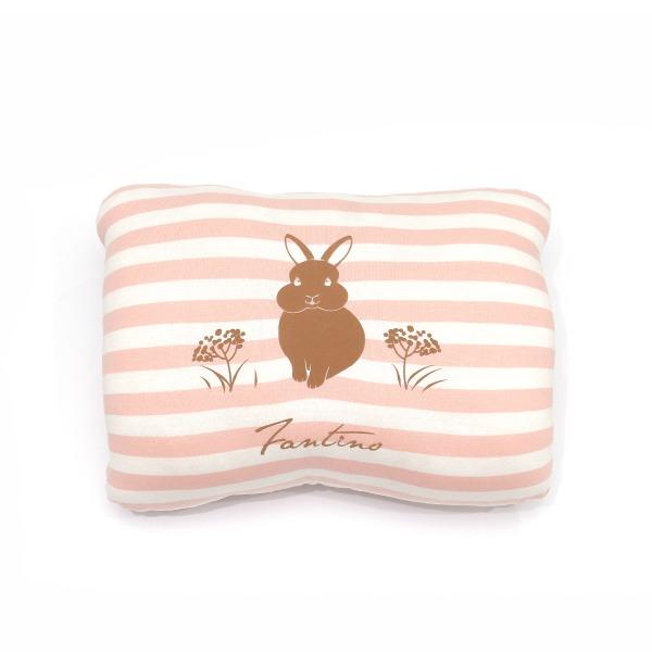 美膚纖維小兔兔暖手枕-櫻花粉