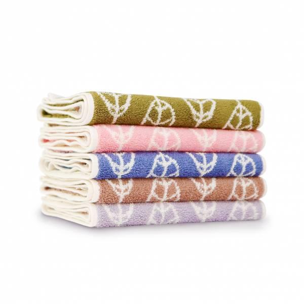 厚質手感色紗百分百棉吸水毛巾(共5色) 毛巾,台灣設計,台灣製造,浴巾組,質感,文創設計,葉子,居家良品,吸水,粉色