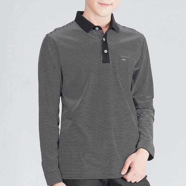 埃及棉POLO衫(男)-深藍