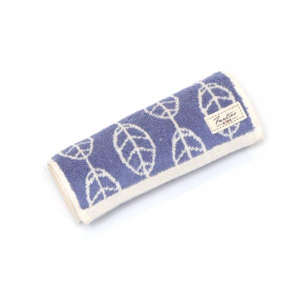 厚質手感色紗百分百棉吸水運動巾-靛藍 棉,毛巾,浴巾,運動巾,毛浴巾,浴室,台灣製造,吸水