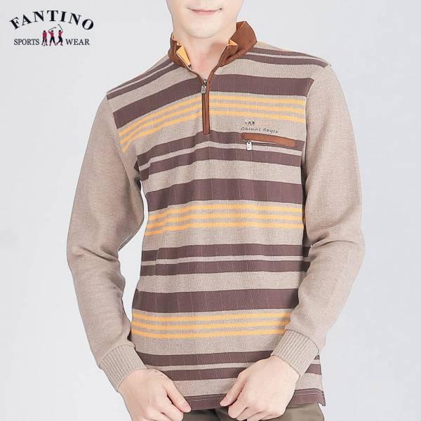 POLO衫(男)-黃棕麻咖