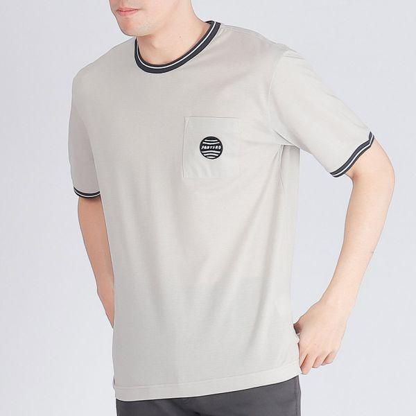 100%純棉圓領衫(男)-共2色