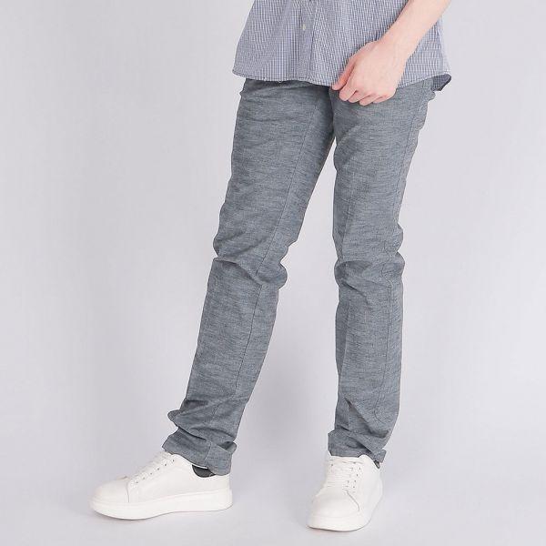 埃及棉牛仔褲(男)-麻花灰