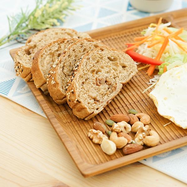 天然柚木早午餐盤-波點款/條紋款 柚木,廚房,餐具,筷子,環保