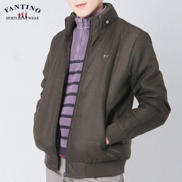 冬保暖外套(男)-深綠