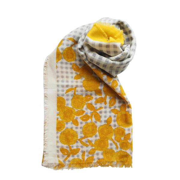 Fantino x Maison Blanche 羊毛披肩圍巾(印度製)