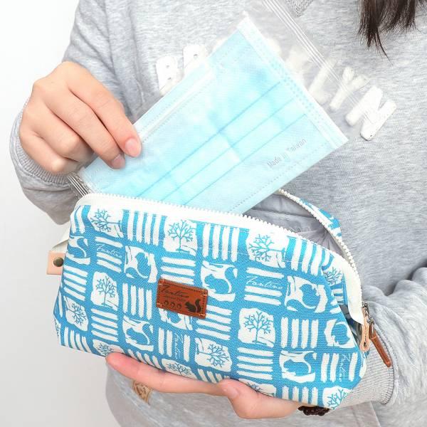 解密古王國口金拉鍊包/化妝包-共5色 手工布料,台灣設計,台灣製造,花布設計,質感袋包,文創設計,刺蝟,提袋,包包,居家良品,提袋,手提包,方包,肩背包,側背包