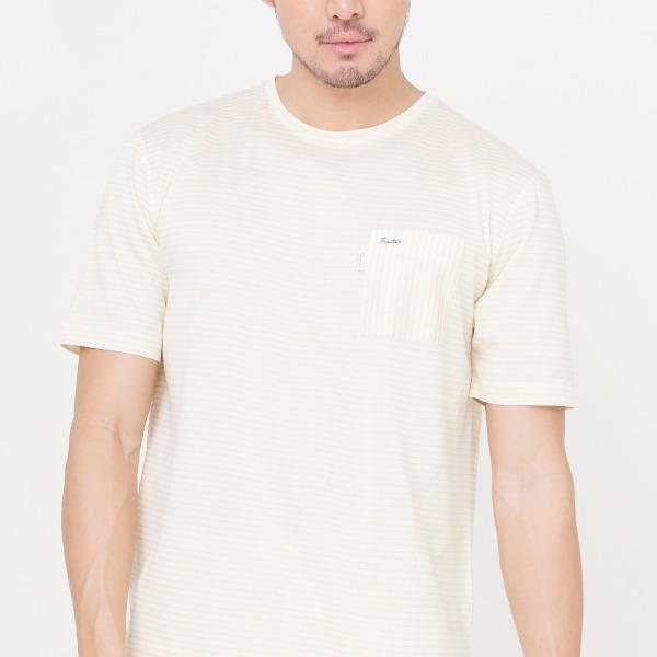 80支雙絲光棉條紋T恤(共6色) T SHIRT,條紋,雙絲光棉,服裝,男裝,fantino