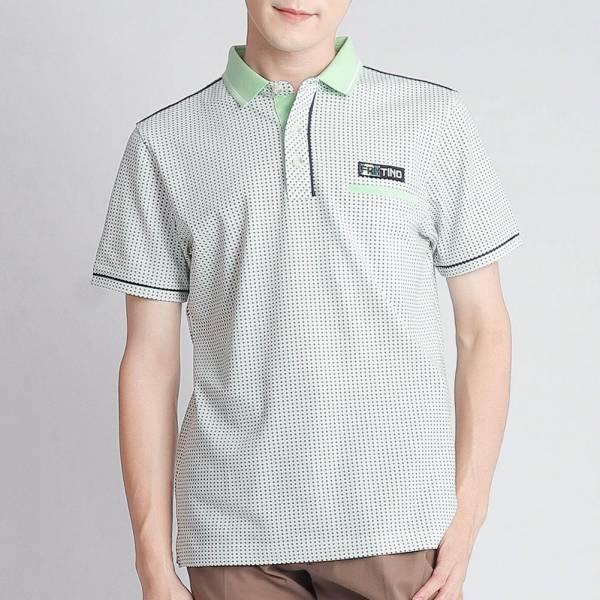 埃及棉POLO衫(男)-薄荷綠