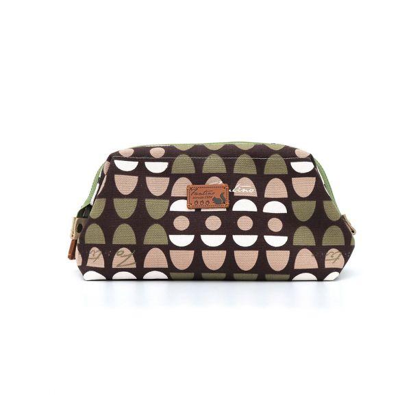 水玉迷宮口金拉鍊包/化妝包-共2色 手工布料,台灣設計,台灣製造,花布設計,質感袋包,文創設計,刺蝟,提袋,包包,居家良品,提袋,手提包,方包,肩背包,側背包