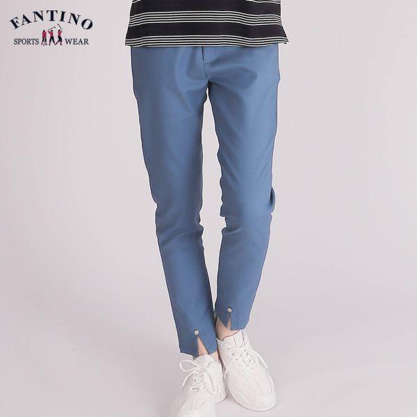 休閒棉褲(女)-藍