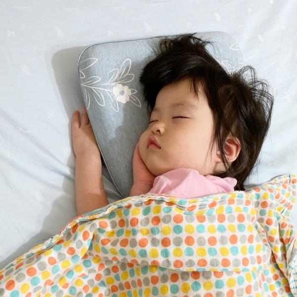 有機棉兒童好眠枕-麻花藍 兒童枕, 有機棉枕頭, 可愛枕頭