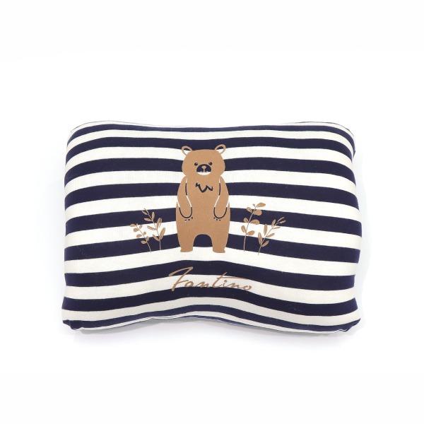 美膚纖維大熊熊暖手枕-海軍藍