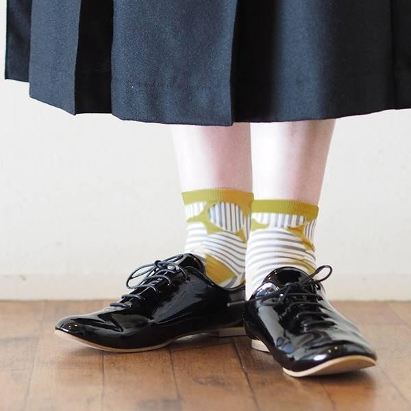 羊毛混紡短襪(日本製)共10色
