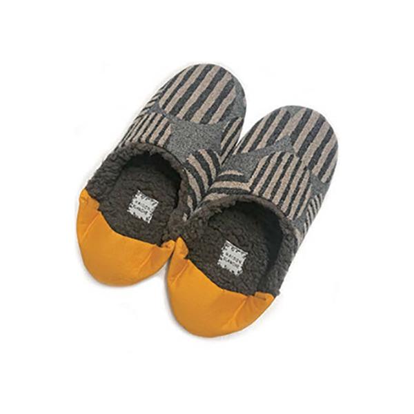 Fantino x Debby 內裡鋪棉保暖室內拖鞋 - Maison Blanche バブーシュサイズ 尾州オリジナルファブリック-Levree(日本製)