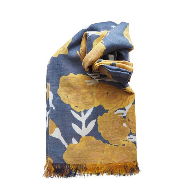Fantino x Debby 莫代爾羊毛披肩 - Maison Blanche モダール&ウールス‧ストール 巻物(印度製)