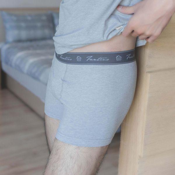 GOTS認證有機棉合身短版腰帶前開四角內褲-共3色 睡衣,家居服,居家服,家居褲,居家褲,舒服睡衣,umorfil,膠原蛋白紗,美膚膠原蛋白,有機棉,親膚