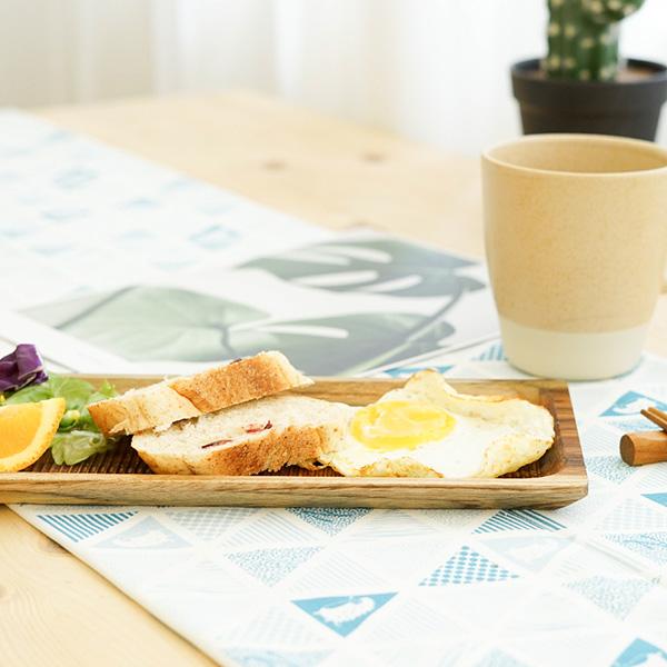 天然柚木餐盤(33cm)-波點款/條紋款 柚木,廚房,餐具,筷子,環保