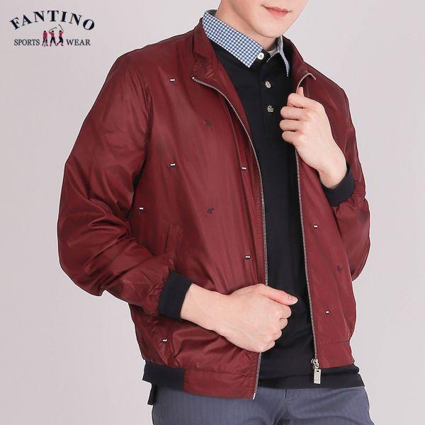 外套(男)-紅
