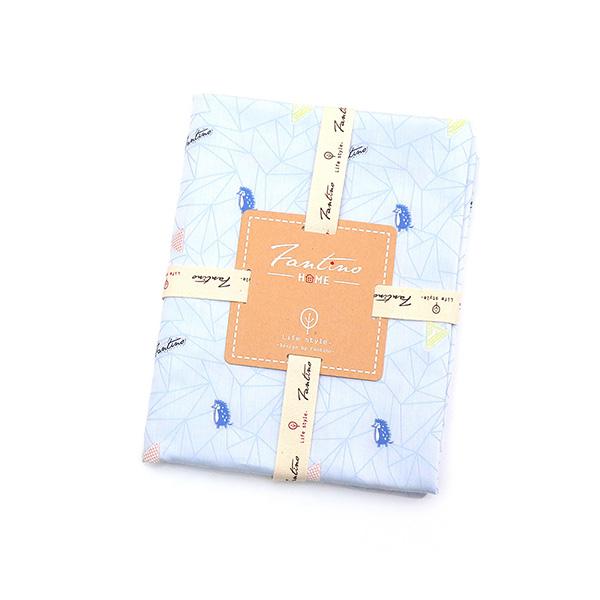 品牌設計緹花剪花布料-藍刺繡  布,台灣設計,台灣製造,手工藝,布料,文創設計,刺蝟,手作,居家良品,棉麻,布料,服裝輔料,diy,手工製作,手工材料