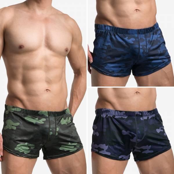買三件以上隨機送。迷彩G-CUP 加大平口褲 男內褲 TPG0012 willmax,迷彩,g-cup,平口褲,男內褲,camouflage,trunks,tpg0012,green,綠色,blue,藍色,grey,灰色