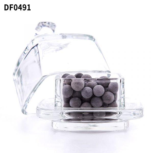 方型玻璃金鐘罩擴香石 DF049 diffuse,方型,破璃,金鐘罩,擴香石,square,glass,jar,diffuser