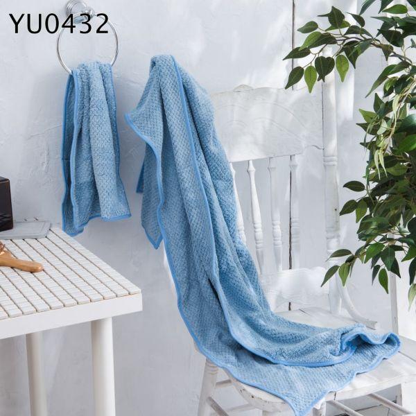 超吸水纖維浴巾組 YU0432 吸水,毛巾,大,小,兩件組,cotton,absorbent,towel,big,small,set,yu0432
