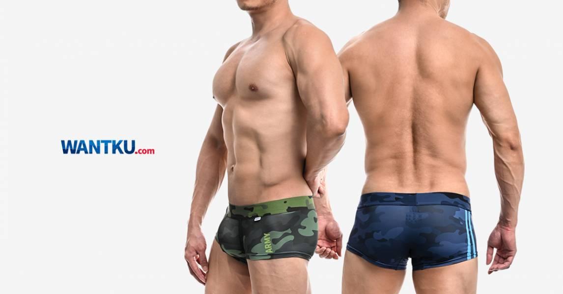 WILLMAX 迷彩 TDT  好屌型四角褲 BU510136-8 willmax,迷彩,tdt,好屌型,四角褲,男內褲,camouflage,enhancing bulge,boxer,bu51013,綠色,green,,army,藍色,blue,navy,灰色,grey,air force
