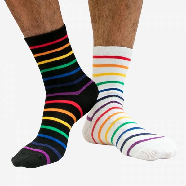 條紋彩虹半筒運動襪 KS5901 條紋,彩虹,半筒,運動,襪,strips,rainbow,socks,sports,ks5901