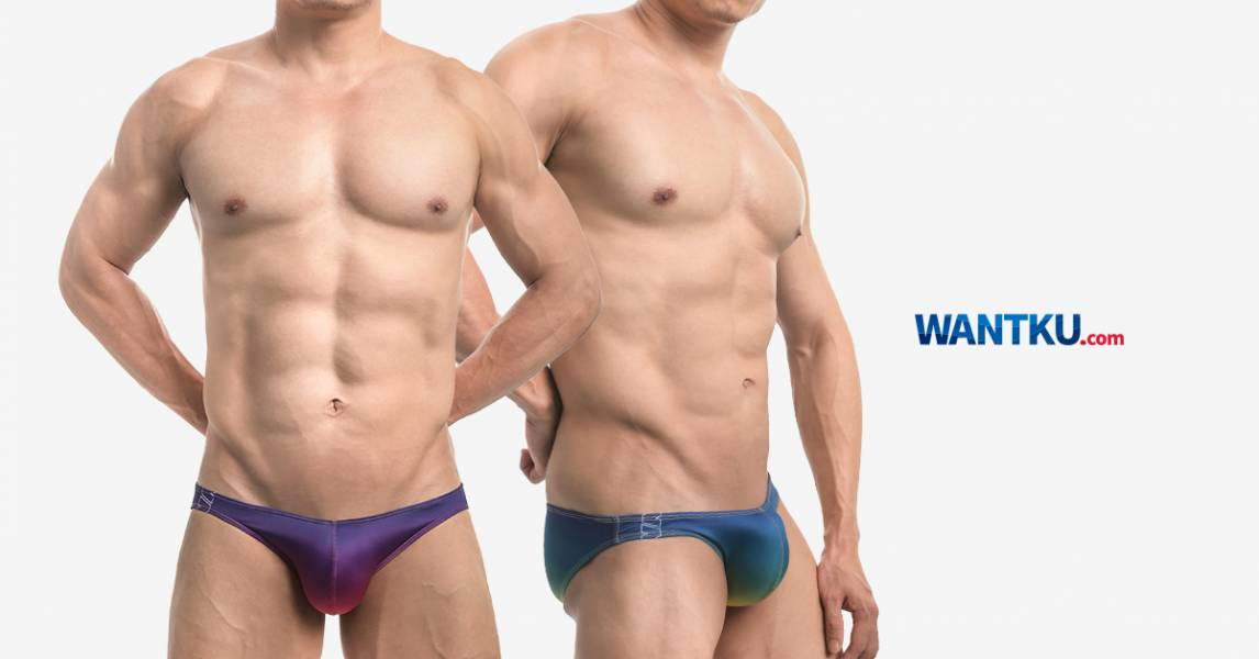 WILLMAX 漸層 TDT 低腰三角褲 男內褲 G31011_1 willmax,漸層,tdt,低腰,三角褲,男內褲,gradient,low waist,briefs,g31011,藍色,綠色,黃色,紫色,紅色,blue,green,yellow,purple,red