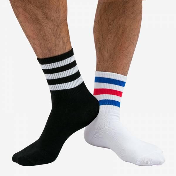 三線中條紋紳士襪 KS2081 三線,中,條紋,紳士襪,triple,middle,stripe,shorts,ks2081
