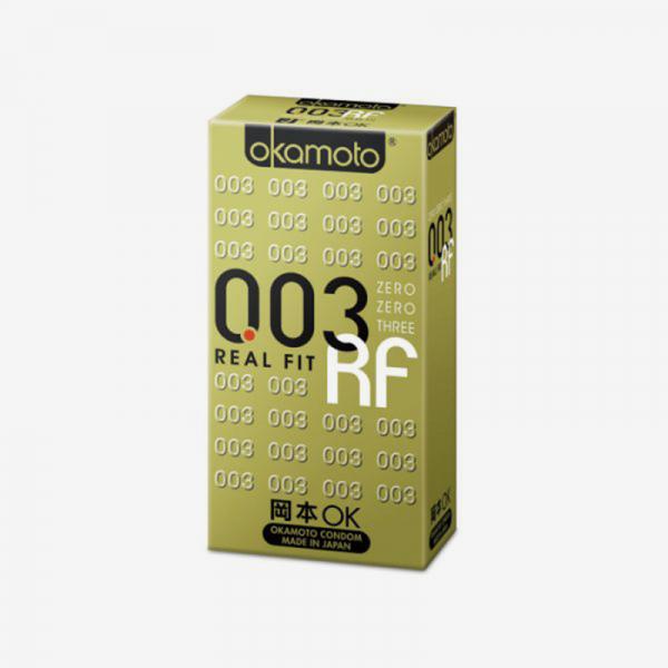 岡本OK 003RF極薄貼身 衛生套 (10入) #保險套 岡本OK,003,極薄貼身,衛生套,okamoto,real fit,condom,保險套