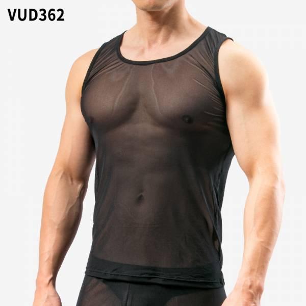 *0碼*透明到嫑嫑的網紗背心 VUD36_0 透明,嫑嫑,網紗,背心,transparent,mesh,singlets,vud36
