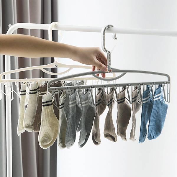 多功能防風晾襪架 PlayByPlay,玩生活,居家,陽台,衣架,晾曬架,晾衣架,防風衣架,曬衣夾,曬襪架