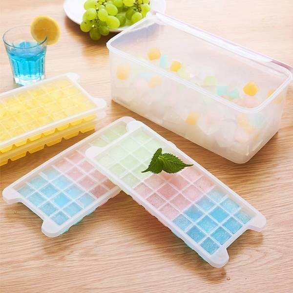 創意多層冰塊模具 144格 PlayByPlay,玩生活,居家,炎熱,冰塊盒,自製,不同口味,沁涼,不相黏,彈性,取冰輕鬆,收納盒,獨立使用,裝飲料蔬果,可疊加收納,省空間