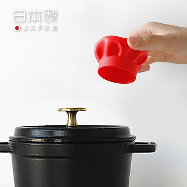 廚師帽隔熱套 PlayByPlay,玩生活,居家,廚房,烹飪,料理,燉湯,日本進口,矽膠,多功能,隔熱套,防燙套,防滑,鍋把套,擰瓶器,擰蓋器,料理工具,廚具