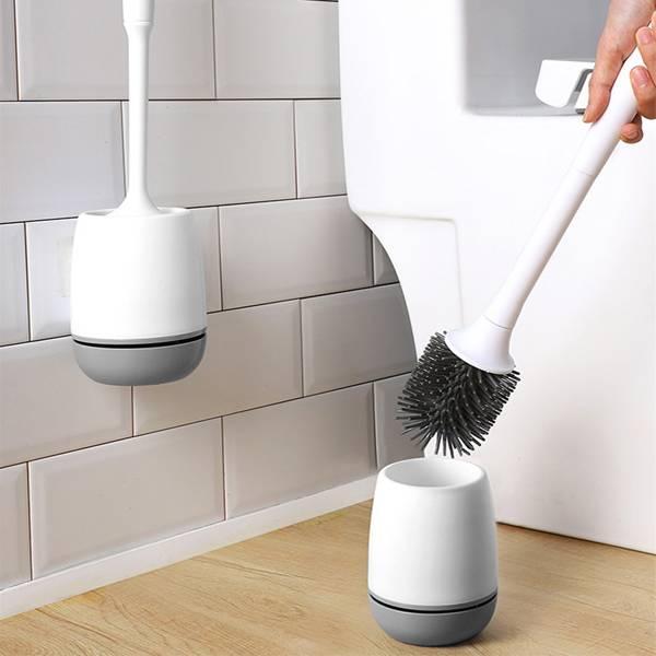 壁掛式矽膠馬桶刷 PlayByPlay,玩生活,居家,浴室,廁所,馬桶刷,清潔,去污,壁掛,收納,瀝水,透氣,衛生,不漏水