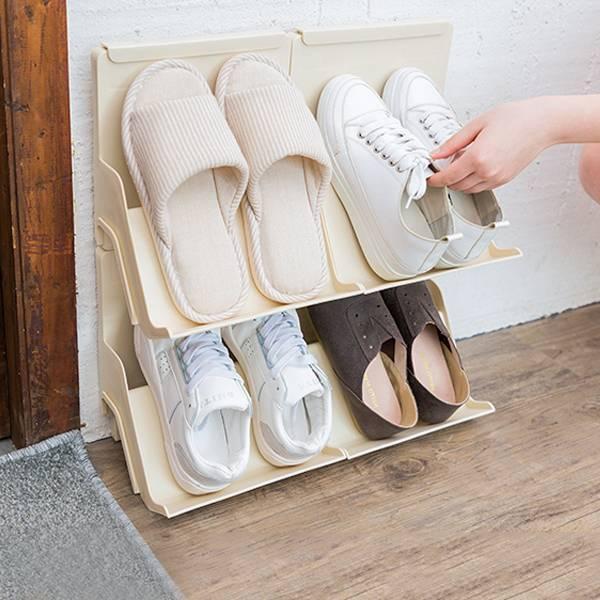 可疊加組合鞋架 PlayByPlay,玩生活,居家,客廳,玄關,鞋架,鞋櫃,可疊加,組合,鞋,省空間