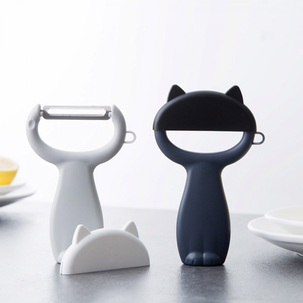 小貓研磨削皮器 PlayByPlay,玩生活,小貓,研磨,削皮,器,廚房,蒜泥,設計