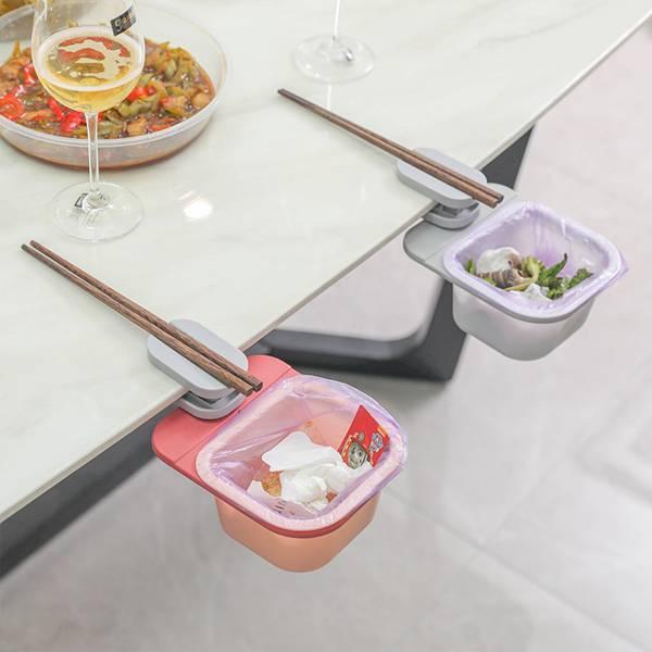 旋轉式桌邊垃圾桶 PlayByPlay,玩生活,居家,餐桌,餐廳,桌邊,垃圾桶,廚餘桶,菜渣桶,筷架,收納架,置物架,儲物架