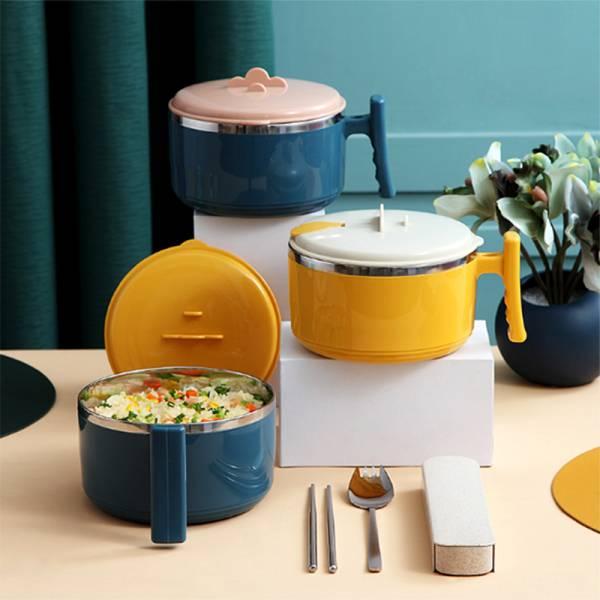 隨時享不銹鋼泡麵碗 PlayByPlay,玩生活,居家收納,餐廳,客廳,廚房,收納
