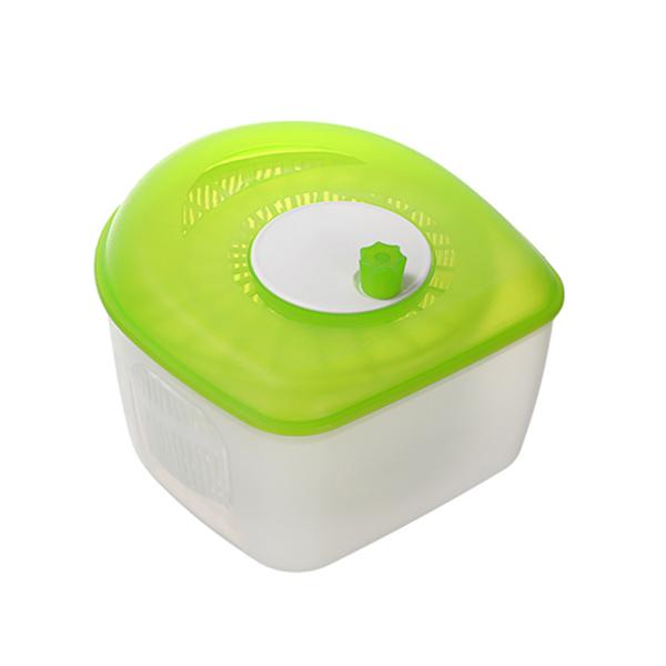 轉轉蔬果脫水器 PlayByPlay,玩生活,居家,廚房,煮飯,烹飪,備料,優質PP,蔬果,清洗,瀝水,脫水,轉動,離心力,大容量,好開好關