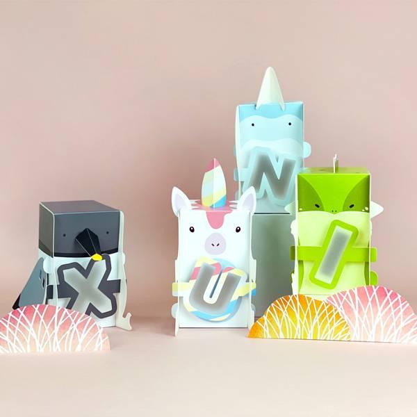 動物造型字母燈 PlayByPlay,玩生活,居家,臥室,客廳,書房,夜燈,閱讀燈,小燈,桌燈,兒童,學齡,動物,恐龍,可愛,卡通,萌,DIY,摺紙,創意,親子,教育,玩樂,玩具,寓教於樂