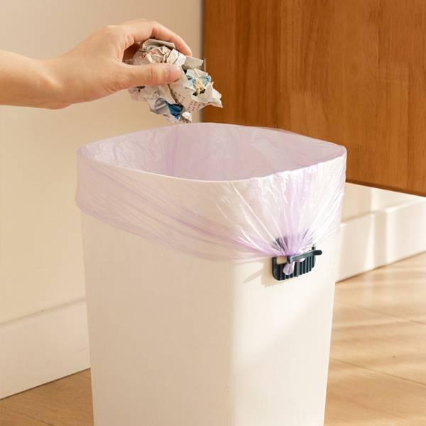 垃圾袋固定貼片 PlayByPlay,玩生活,居家,垃圾桶,垃圾袋,廚餘袋,固定扣,固定器,固定貼,固定夾,夾子,防脫落