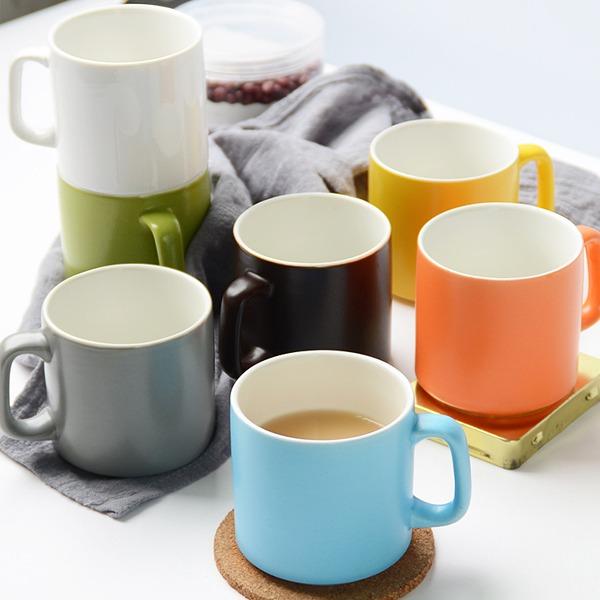 糖果色啞光馬克杯 居家,餐桌,馬克杯,糖果色,清新,啞光處理,釉彩細緻,手感佳,容量剛好,點綴日常生活