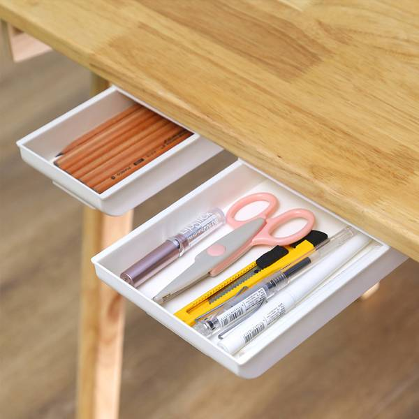 好隱密桌下抽屜盒 PlayByPlay,玩生活,居家,桌下,櫥櫃,收納盒,儲物盒,置物盒,整理盒,桌面收納,抽屜筆盒,桌下抽屜
