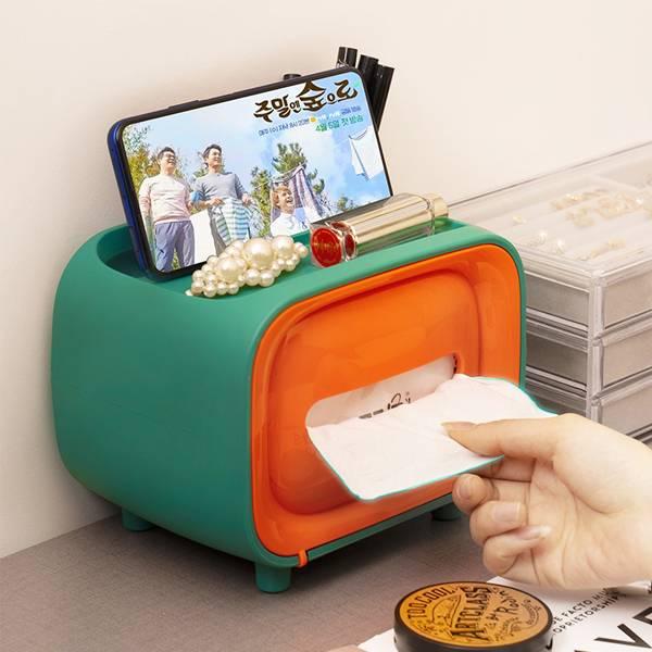 可置物復古紙巾盒 PlayByPlay,玩生活,居家,客廳,廚房,臥室,浴室,廁所,梳妝台,衛生紙,紙巾,收納盒,置物盒,置物檯,文具,隨身物品,居家用品