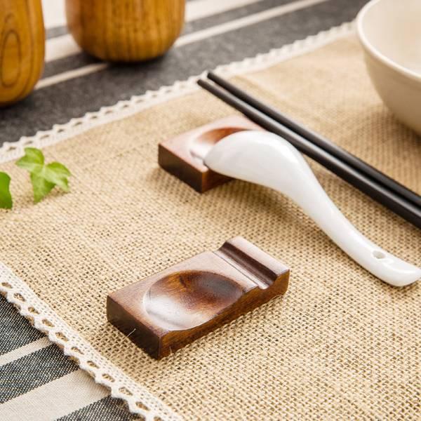 楠木兩用筷架 PlayByPlay,玩生活,楠木,兩用,筷架,自然,餐具,清新