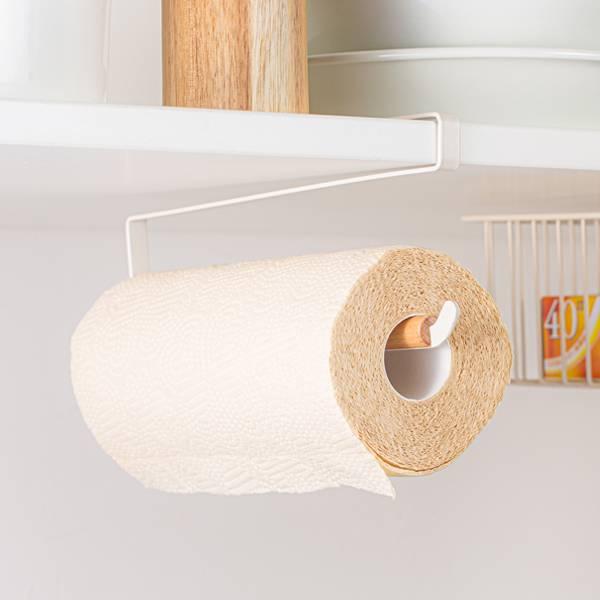 廚房懸掛紙巾架 PlayByPlay,玩生活,居家,廚房,烹飪,懸掛,收納,收納架,紙巾,餐巾紙,櫥櫃,層櫃,鐵藝,穩固,止滑